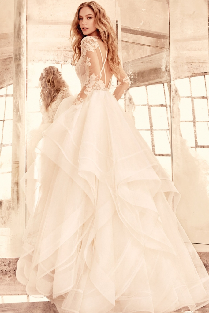 Hayley paige wedding dresses fairytale brides elysia by hayley paige junglespirit Choice Image
