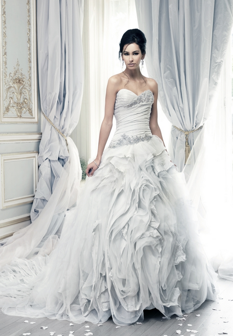 The Best Wedding Dress Designers of 2015 -