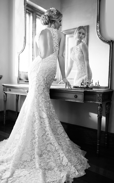 Wedding dress designer Martina Liana