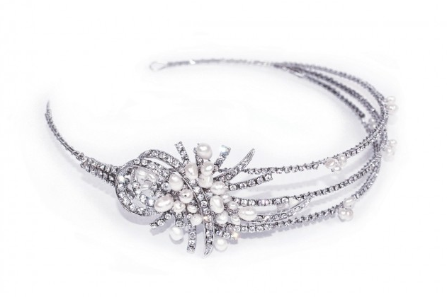 Side Headpiece by Ivory & Co