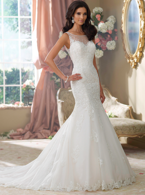 David Tutera 214207 wedding dress